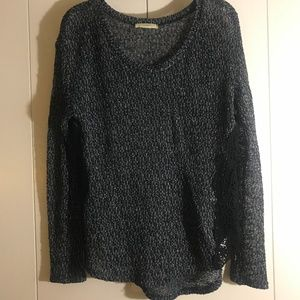 Women's Ladies Sweater with Lace detailing